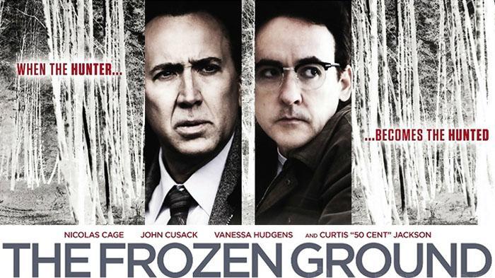 Poster film The Frozen Ground, tayang malam ini di Bioskop Trans TV.