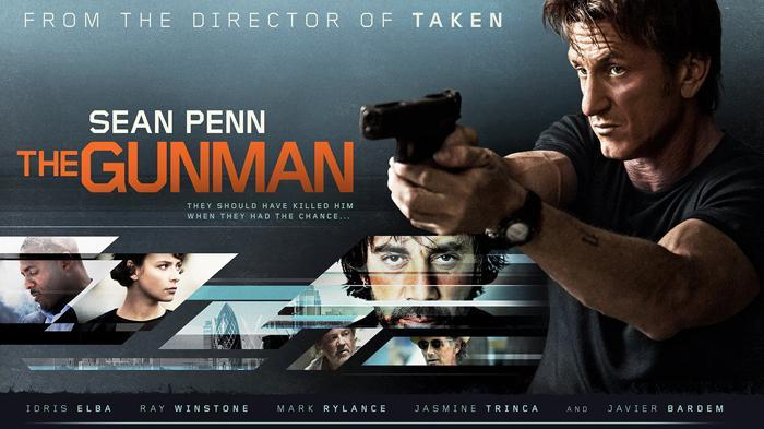 Poster film The Gunman.