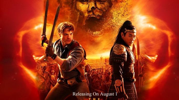Sinopsis Film The Mummy Tomb of the Dragon Emperor Hari Ini 3 Maret 2019 GTV 21.00 WIB, Mumi Bangun!