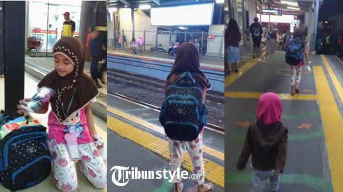 Tiap Hari Ketemu di Stasiun Cawang, Gadis ini Selalu Tanya 'Om Jualan?', Kisah Sedihnya Terungkap