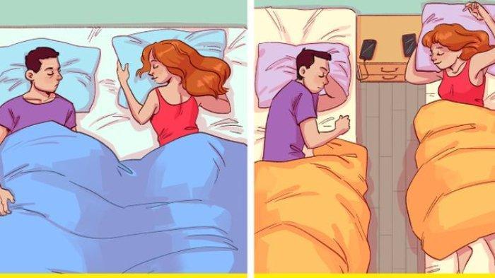 3 Alasan Sebaiknya Tidur di Ranjang yang Terpisah Bagi Pasangan Suami Istri