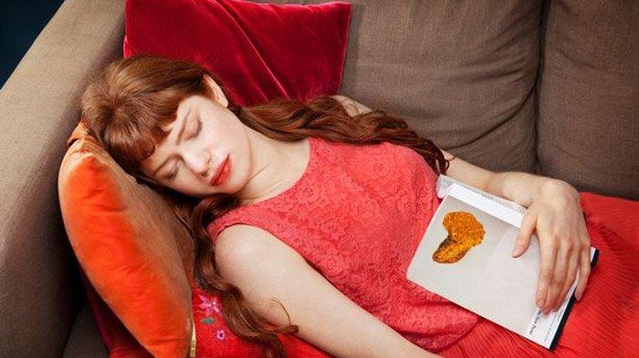 Ilustrasi tidur di siang hari