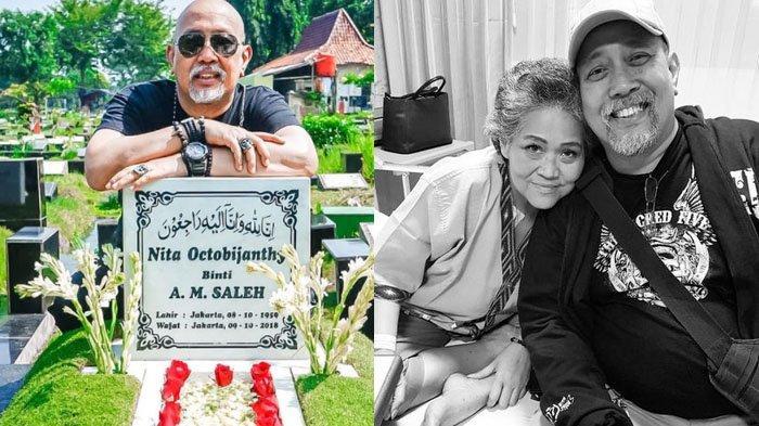 Pasang Senyum Sembari Kunjungi Makam Istri, Indro Warkop Ungkap Kerinduan: Rasanya Semakin Kangen