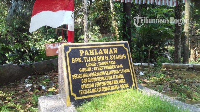 Tijan Bin Haji Syairin, Pahlawan Tampan dari Bogor Meninggal Jelang Pernikahan, Masih Usia 18 Tahun