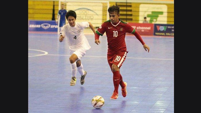 Link Live Streaming MNCTV Timnas Futsal Indonesia vs Malaysia AFC U-20 Pukul 16.00 WIB