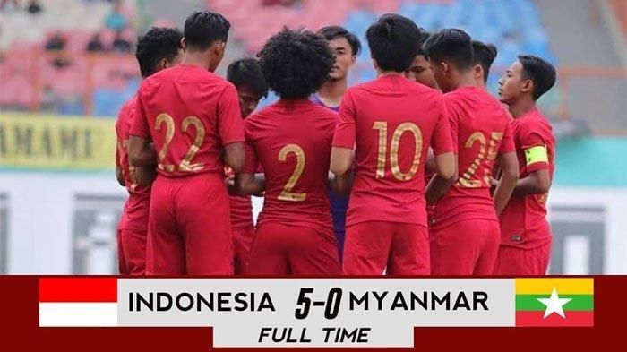 HASIL AKHIR Timnas U-18 Indonesia vs Myanmar, Garuda Muda Pastikan Juara Ketiga Piala AFF U-18