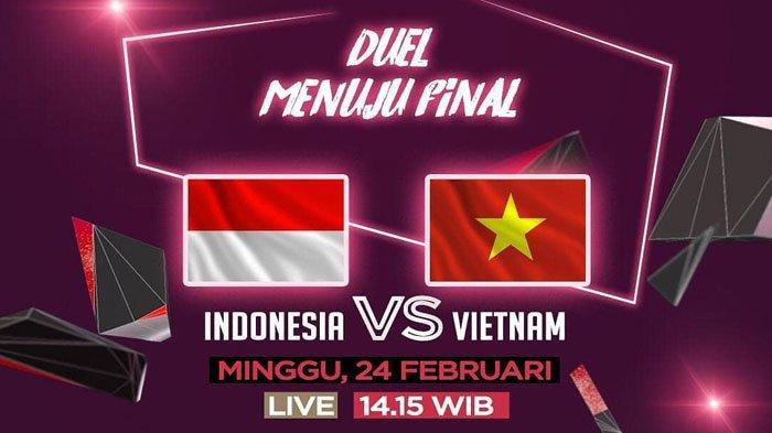 Live Streaming RCTI Timnas U-22 Indonesia Vs Vietnam Minggu 24 Februari 2019 Pukul 14.15 WIB