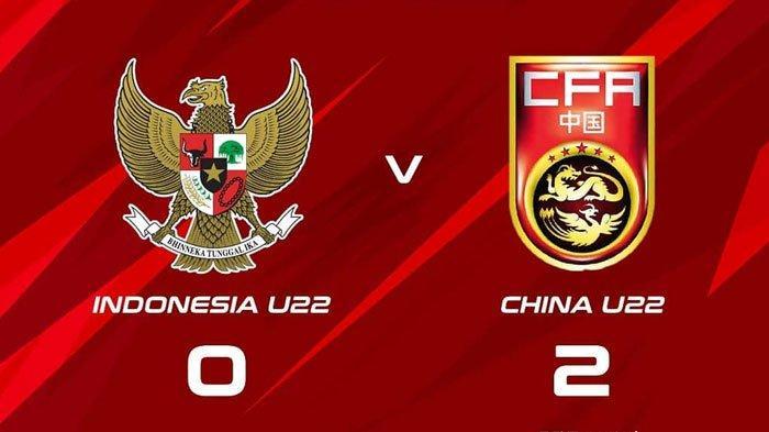 HASIL AKHIR Timnas U-23 Indonesia vs China U-23 CFA International 2019, Tuan Rumah Menang 2-0