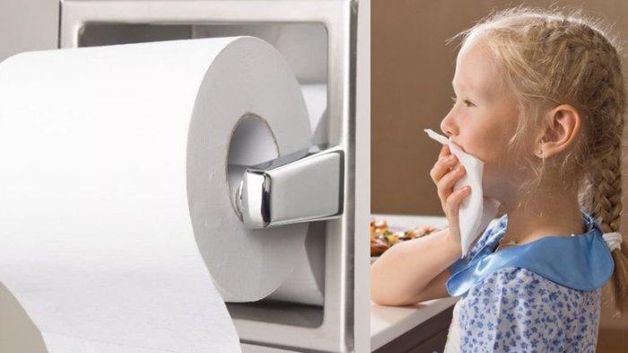 Sering Ada di Warung Makan, Ini Bahaya Tisu Toilet yang Sering Digunakan untuk Makanan