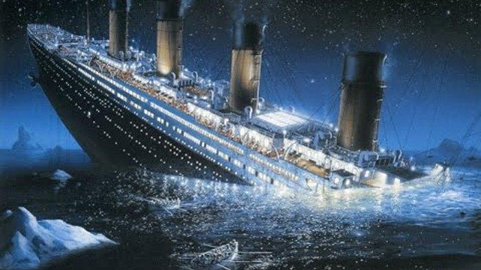 Foto Asli Saat Detik-detik Tenggelamnya Kapal Titanic Terungkap! Ada Sosok Tokoh Asli Dalam Film!