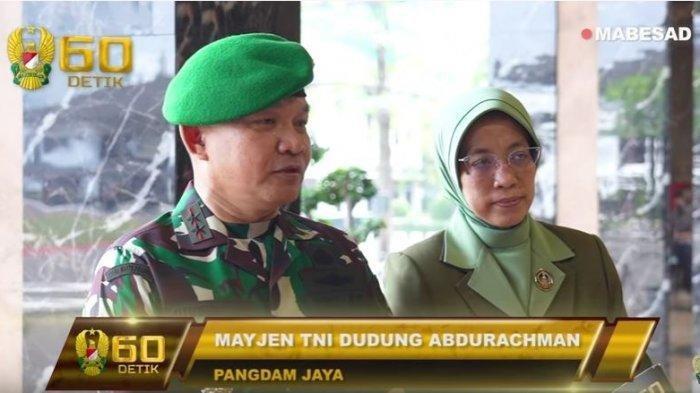 TNI AD Pangdam Jaya, Mayjen TNI Dudung Abdurachman