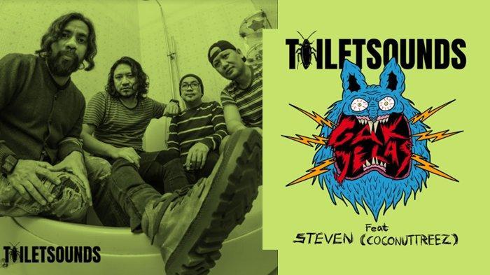 Grup Band Toiletsounds Rilis Karya Penghormatan untuk Steven Coconuttreez, Lagu Berjudul 'Gak Jelas'