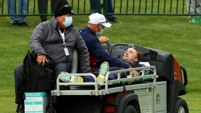 Tom Felton dilarikan ke rumah sakit karena terjatuh saat latihan golf.