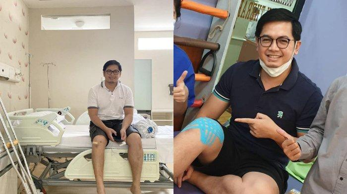LAMA Tak Terdengar Kabar, Tommy Kurniawan Pilu Beber Kondisinya, Jalan Tertatih Pakai Kruk: Doain Ya