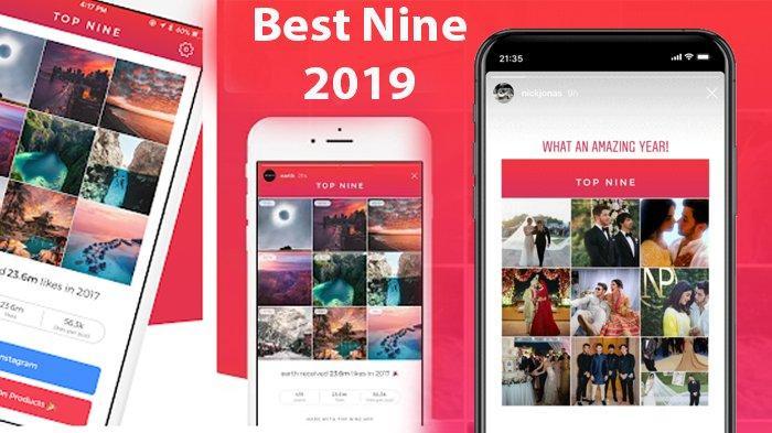 Cara Lengkap dan Mudah Membuat Best Nine Instagram 2019 untuk Android dan iPhone, Disertai Link