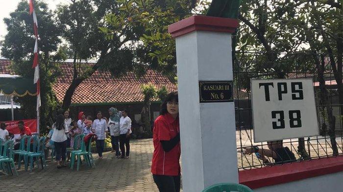 Suasana TPS 38 Manahan Solo Tempat Keluarga Jokowi Mencoblos, Tak Ada Pengamanan Khusus