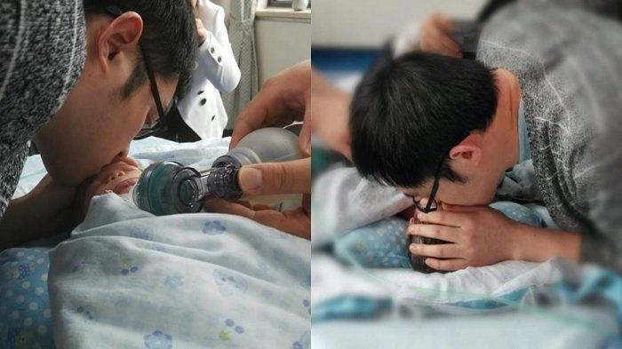 Tragis, Seorang Pria Kehilangan Istri dan Bayinya Sekaligus, Donasikan Organ Bayi Untuk Dikenang