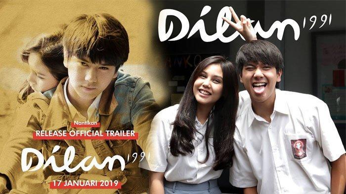 Dilan 1991 Tayang di Bioskop 28 Ferbruari 2019, Official Trailer Trending YouTube, Makin Romantis!