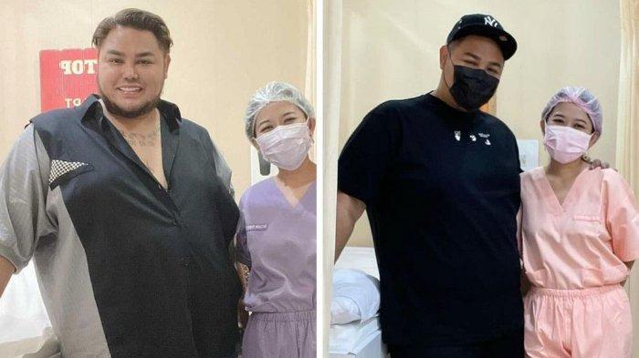 Transformasi Ivan Gunawan saat turun berat badan 18 kg.