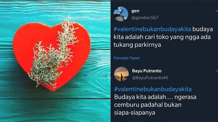 Ini Meme Valentine dari Tagar #ValentineBukanBudayaKita Bikin Ngakak, Trending Topic Twitter!
