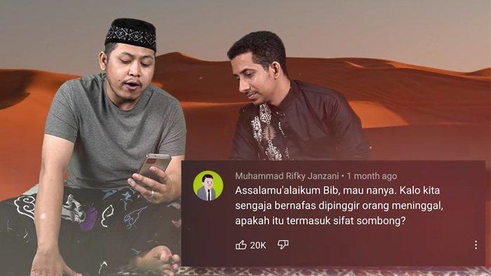 Ditanya 'Hukum Bernapas di Samping Orang Meninggal', Habib Husein Ja'far  Beri Jawaban Menohok - Halaman 2 - TribunStyle.com