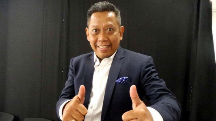 Pembawa acara yang juga komedian Tukul Arwana ditemui usai mengisi acara Konser Ayu Ting Ting Kamu Kamu Kamu di MNC Tower, Kebon Jeruk, Jakarta Barat, Rabu (23/8/2017).