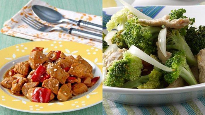 Masakan Rumahan Serba Ayam, Inilah 5 Resep Tumis Ayam Beragam Variasi, Ayam Wijen, Ayam Brokoli