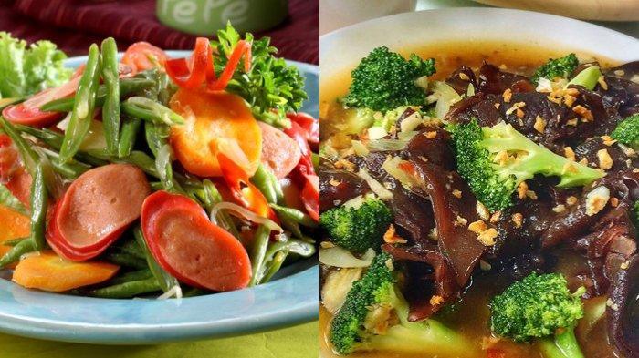 Serba Sayur, Inilah 5 Resep Masakan Sayuran yang Bisa Dibuat di Rumah, Tumis Buncis, Tumis Brokoli