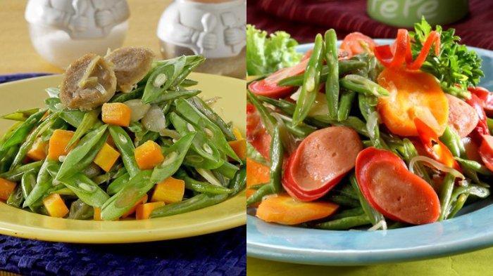 5 RESEP Masakan Rumahan dari Tumis Buncis, Tambahkan Sosis, Ayam, Daging Giling, Tahu dan Bakso