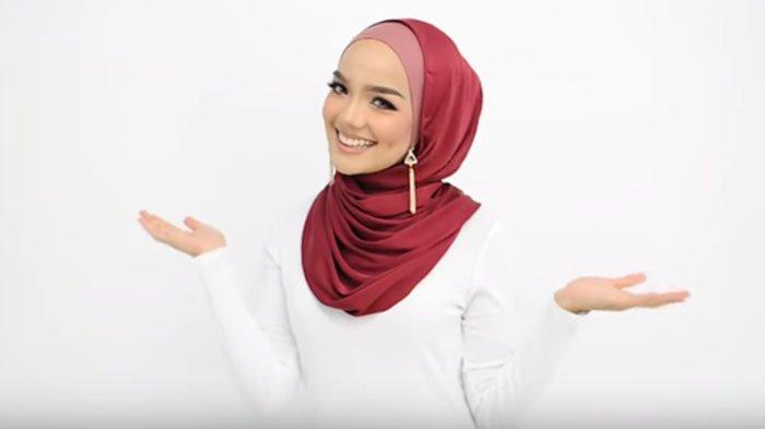 Ada Gaya Hijab Terbaru Yang Cocok Untuk Ke Acara Pesta Tambahkan Dengan Anting Panjang Tribunstyle Com