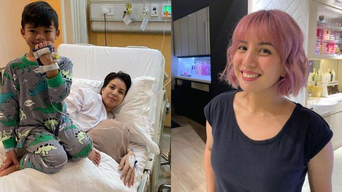 Dirawat di RS Bareng Anak, Tya Ariestya Bagi Kondisi Terkini: Trombosit Bunda Masih Turun Terus