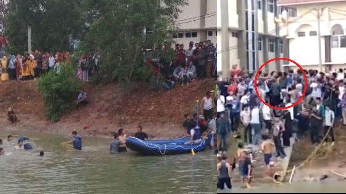 Viral, Sosok 2 Mahasiswa UIN Raden Intan Lampung yang Tenggelam Karena Kejutan Ultah, Hafiz Quran!