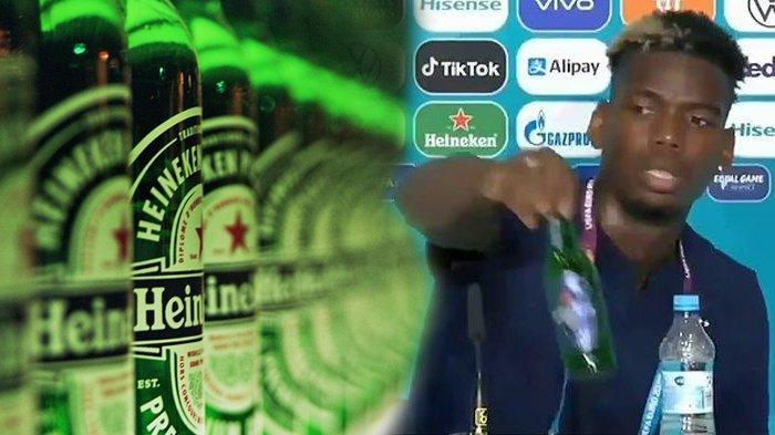 Beda dengan Coca-Cola yang Anjlok Gegara Ronaldo, Saham Heineken Malah Naik setelah Ulah Pogba