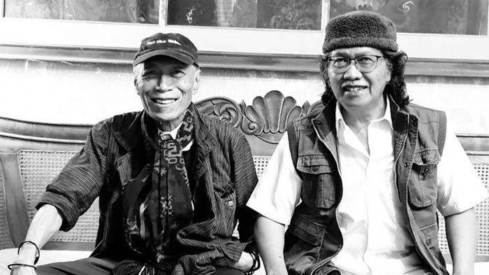 Umbu Landu Paranggi dan Cak Nun.