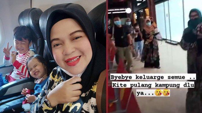 Unggahan Instagram Ratih Windania, penumpang Sriwijaya Air SJ182 9 Januari 2021.