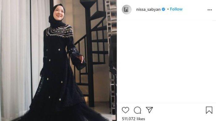 Unggahan terbaru Nissa Sabyan