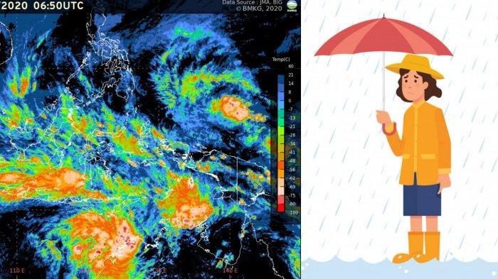Prakiraan Cuaca Besok Rabu, 16 Desember, Jakarta dan Hampir Seluruh Jawa Potensi Hujan Angin