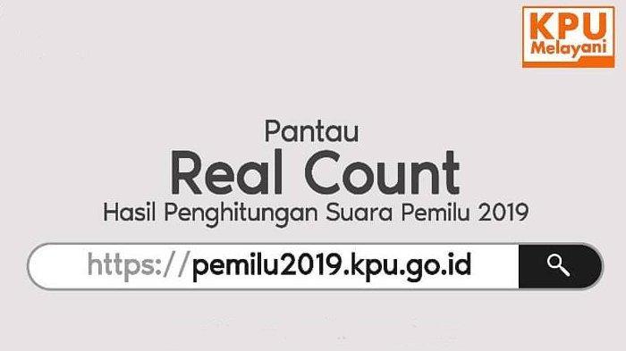 UPDATE TERBARU Real Count KPU Pilpres 2019 Jokowi vs Prabowo Rabu (8/5) Pukul 14:00 WIB