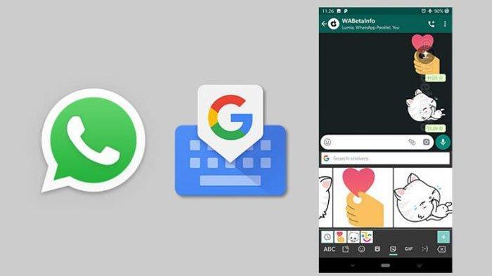 Update WhatsApp Terbaru Banyak Stiker Lucu Khusus di Keyboard Google, Ini Caranya
