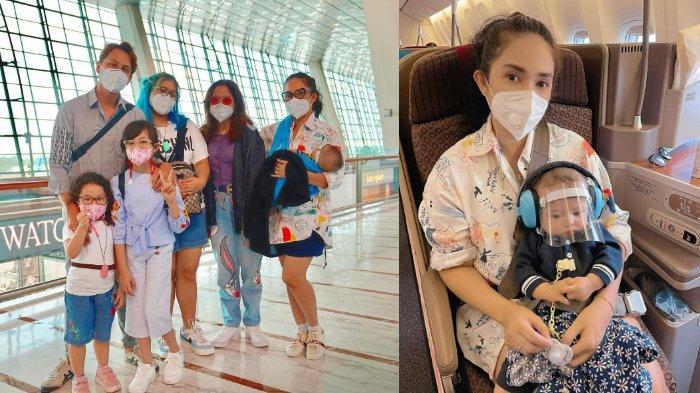 Liburan Bareng Keluarga ke Bali di Tengah Pandemi, Ussy Sulistiawaty: Penuh Rasa Was-was & Khawatir