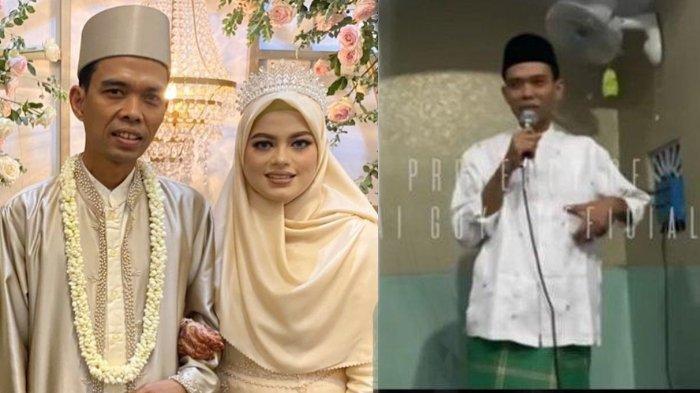 MASIH Pengantin Baru, Ustaz Abdul Somad Salting 'Digoda' Jemaah Wanita saat Ceramah di Kampung Istri