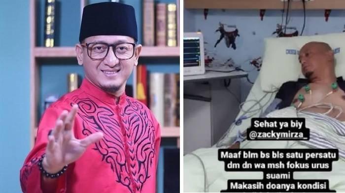 6 Fakta Ustaz Zacky Mirza Pingsan saat Ceramah, Kondisi Terkini setelah Sempat Muncul Hoax Meninggal