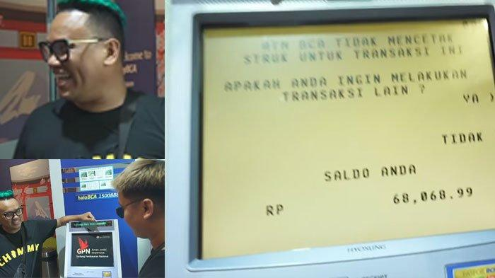 Reaksi Uya Kuya Lihat ATM Billy Syahputra, Tertawai Isi Rekening Eks Hilda Vitria, Hanya Rp 68 Ribu