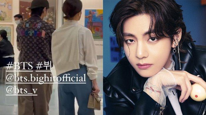 Heboh Rumor Kencan V BTS dengan Putri Presiden Paradise Group, HYBE Labels Langsung Klarifikasi