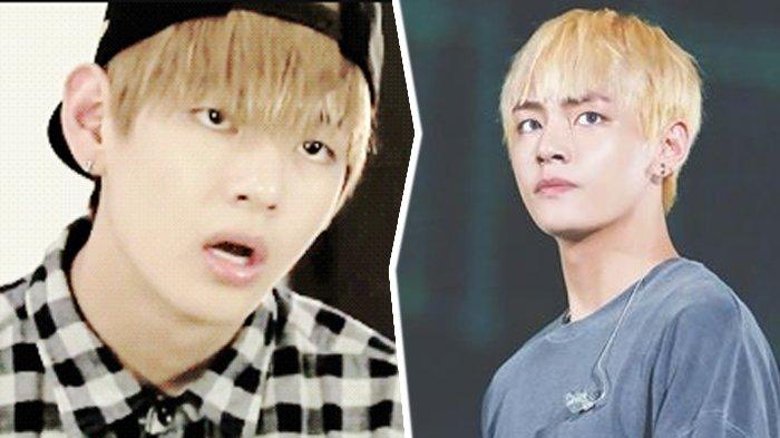 Netizen Bandingkan Ekspresi Wajah V Bts Saat Senyum Dan Expressionless Kamu Pilih Yang Mana Tribunstyle Com