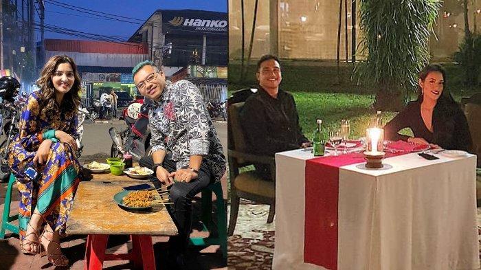Momen Manis 5 Pasangan Artis Rayakan Hari Valentine, Ada yang Dinner Romantis di Pinggir Jalan
