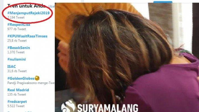 Artis Vanessa Angel ikut diamankan Polda Jatim dalam kasus prostitusi online di Surabaya dan trending tagar Twitter