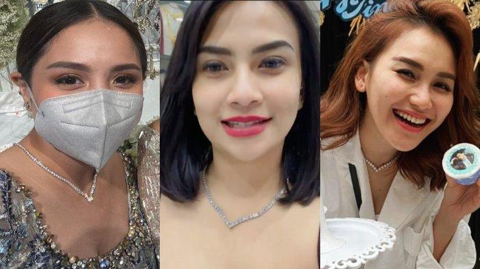 Pakai Kalung Viral, Vanessa Angel Pilih Jadi Nagita Ketimbang Ayu Ting Ting: Vanessa Slavina