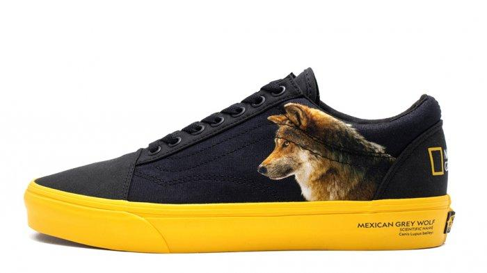 Vans Akan Rilis Sneakers Kolaborasi dengan National Geographic pada 1 Juni Mendatang