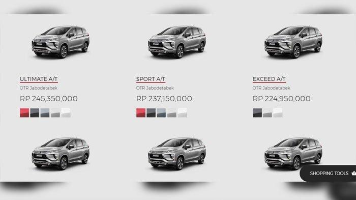 Ini Daftar Harga Resmi Varian Mitsubishi Xpander Mulai 189 Jutaan Tribunstyle Com